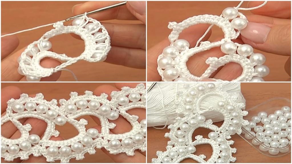 Rochet Beautiful Beaded Tape Tutorial Ilove Crochet