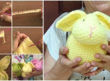 knitting rabbit