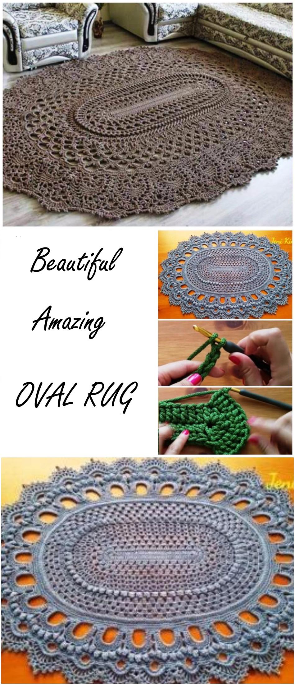 Amazing Oval Rug