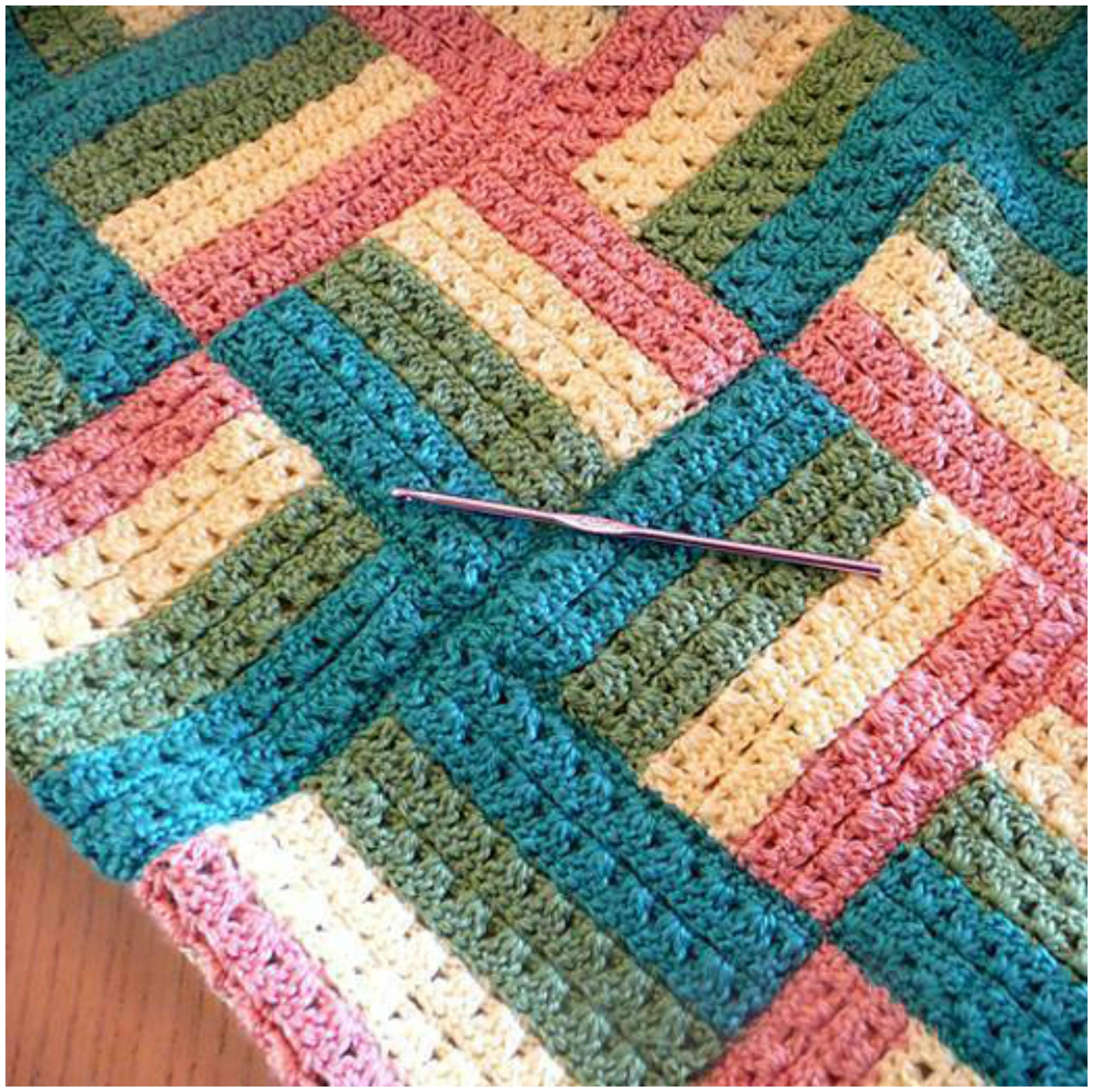 Crochet Pattern Tester 2017 : Sonoma Baby Blanket Free Crochet Pattern - ilove-crochet