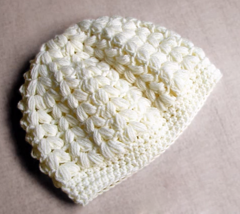 Beautiful beanie hat step by step tutorial ilove crochet