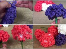 Crochet Carnation Flowers