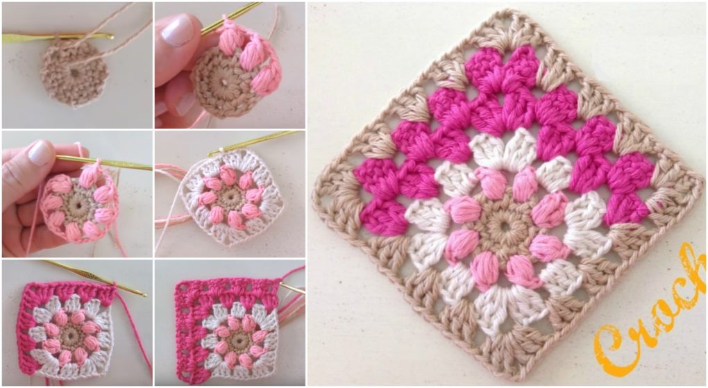 Diagonal Granny Square