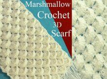 3D Scarf Marshmallow Stitch