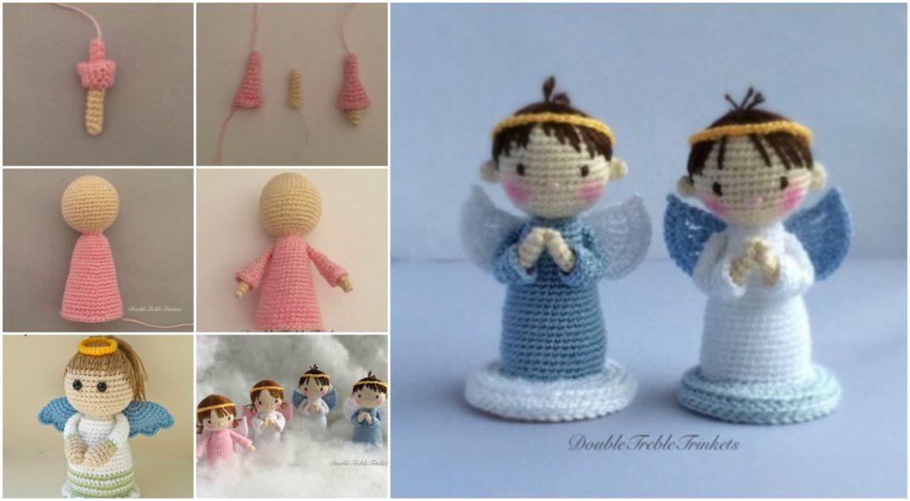 Crochet Angels Boysgirls Free Pattern Ilove Crochet