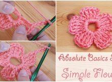 Crochet A Simple Flower