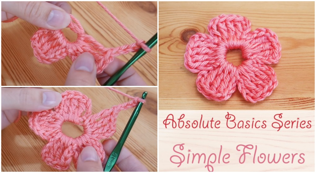 Crochet A Simple Flower