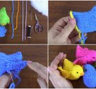 Crochet Cute Little Birds