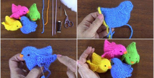 Crochet Cute Little Birds