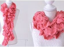 Crochet Long Scarf