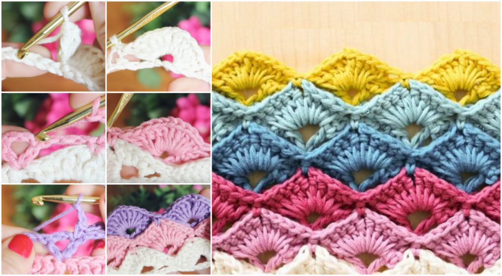 Learn To Crochet Elegant Box Stitch - ilove-crochet