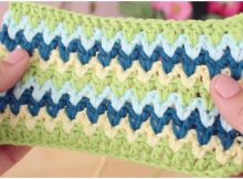 Crochet V-Point Ideal For Blankets