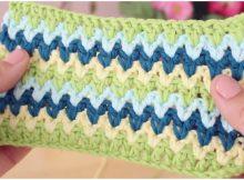 Crochet V-Point Ideal For Blankets