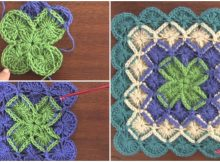 Square and Rectangle In Bavarian Stitch