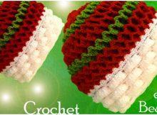 3D Beanie Hat Marshmallow Stitch