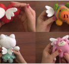 Crochet Amigurumi Dolls With Wings Free