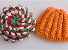 Crochet Beanie Hat Serpentine Stitch