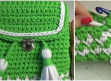 Crochet Beautiful Backpack