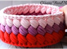 Crochet Beautiful Basket