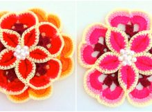 Crochet Beautiful Flowers
