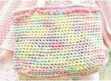 Crochet Colorful Bag