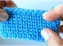Crochet Jersey Granite Stitch