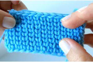 Crochet Jersey Granite Stitch