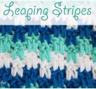 Crochet Leaping Stripes Blanket