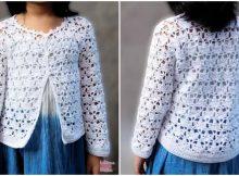 Crochet Sweater For Girls