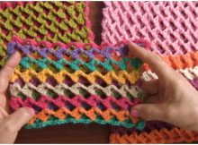 Crochet Turkish Stitch Reversible And 3D