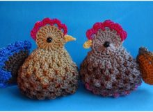 Easter Chickens Free Pattern [Video]