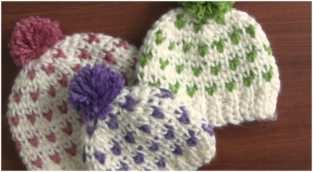 Crochet Beautiful Beanie Hat Jersey Stitch Ilove Crochet