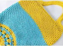 Crochet Beautiful Market Bag