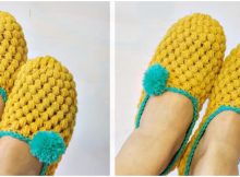Crochet Beautiful Slippers