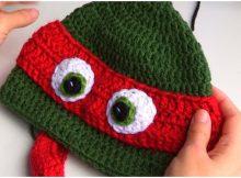 A Ninja Turtle Beanie Hat
