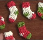Mini Christmas Booties