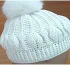3D Beanie Hat Leaf Stitch