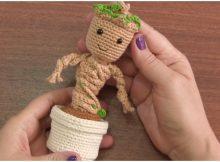 Baby Groot With Pot Amigurumi Tutorial