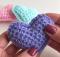 Crochet 3D Heart