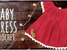 Crochet Baby Cute Dress