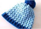 Crochet Beanie Hat Puff Stitch