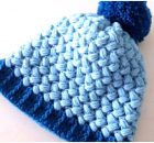 Crochet Beanie Hat Puff Stitch