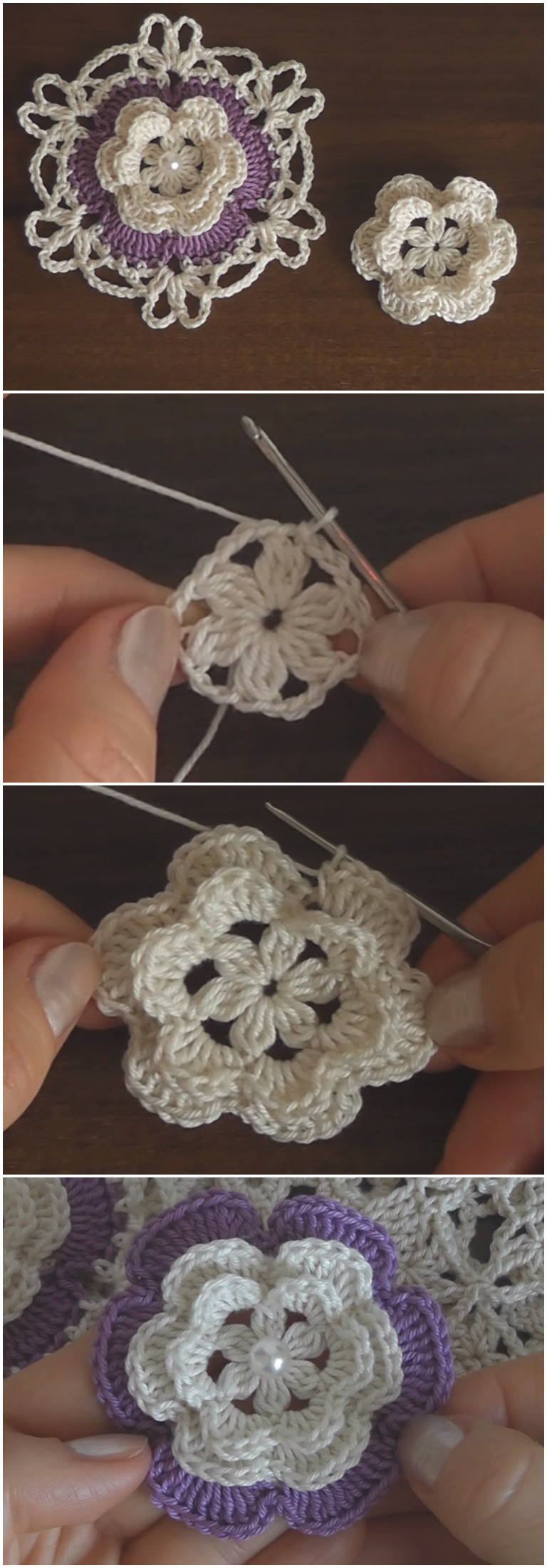 Crochet Easy and Beautiful Flower