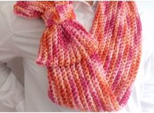 Infinity Scarf With Beautiful Bow
