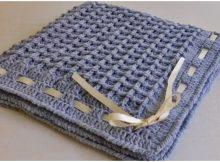 Beautiful Baby Blanket Waffle Stitch