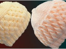 Crochet 3D Beanie
