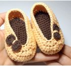 Crochet Beautiful Mini Slippers