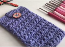 Phone Case Bag Using Star Stitch