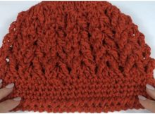 Beanie Hat Beautiful Stitch