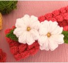 Butterfly Braids Headband With 3D Flower